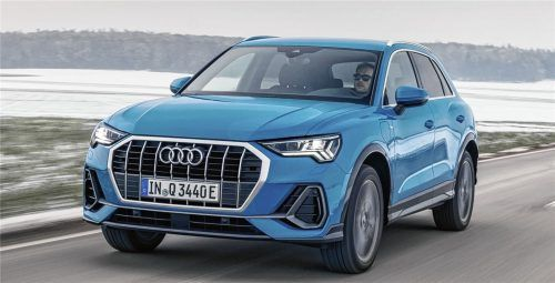 Plug-in-Hybride sind angesagt: Auch Audi bietet den Q3, wie hier den Q3 45 TFSIe, als Kombimodell an. Foto ampnet/Audi