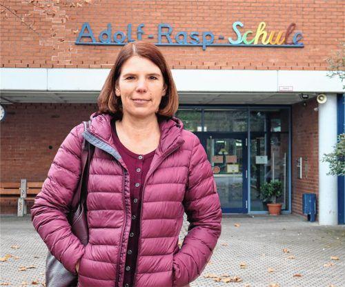 Sie hat sich seit Jahren soziales Engagement auf ihre Fahnen geschrieben: Timea Schlicht ist seit wenigen Wochen neue Vorsitzende des Fördervereins Adolf-Rasp-Grundschule Kolbermoor. Foto Riediger
