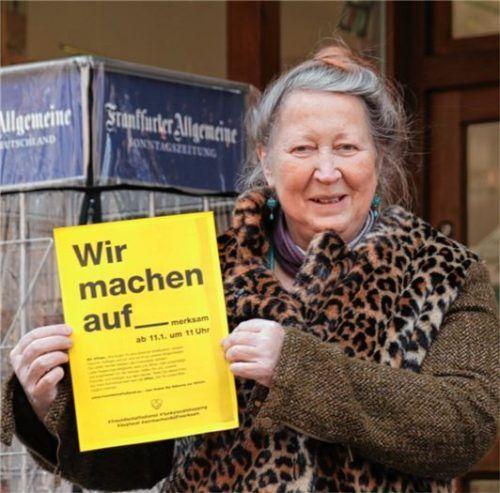 """""""Wir sind ausgebremst"""": Brigitte Wagner von der Buchhandlung Beer."""