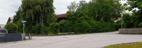 An der Garten- und Simon-Irschl-Straße wurde im Frühjahr das Verkehrsaufkommen gemessen. Eine zweite Messung soll folgen, sobald das neue Baugebiet fertiggestellt ist.Foto Gillitz
