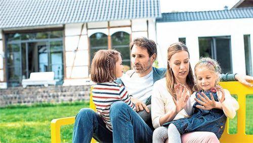 Auch für junge Familien kann die Erbschaft zur finanziellen Bürde werden. Foto BHW