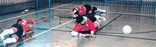 Blinden-Torball war früher eine sehr erfolgreiche Sparte des Behinderten-Sportvereins. Foto BSV