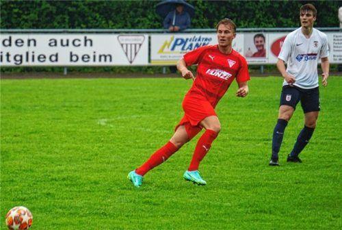 Bruckmühls Neuzugang Stefan Scherhag kommt vom SV Warngau zum Landesliga-Aufsteiger. Foto Neumeier