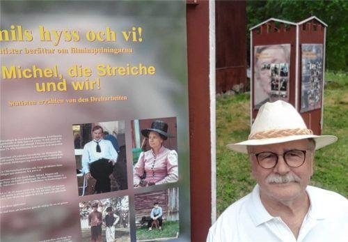 Der Haager Designer Peter Syr hat in Schweden eine Michel-aus-Lönneberga-Ausstellung gestaltet. Fotos re