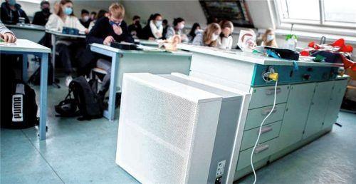 Der Nutzen von mobilen Luftreinigungsgeräten ist umstritten. Foto  dpa