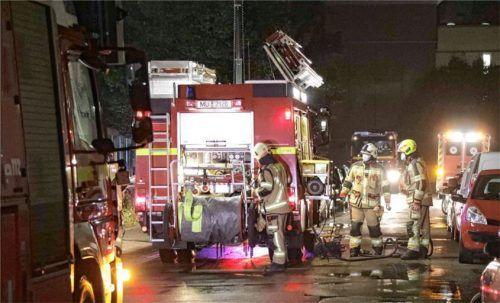 Die Arbeit der Mühldorfer Feuerwehr ist mit Löscheinsätzen nicht getan. Technische Hilfeleistungen nehmen bei der Feuerwehren fast schon zwei Drittel der Einsätze in Anspruch. Foto  fib