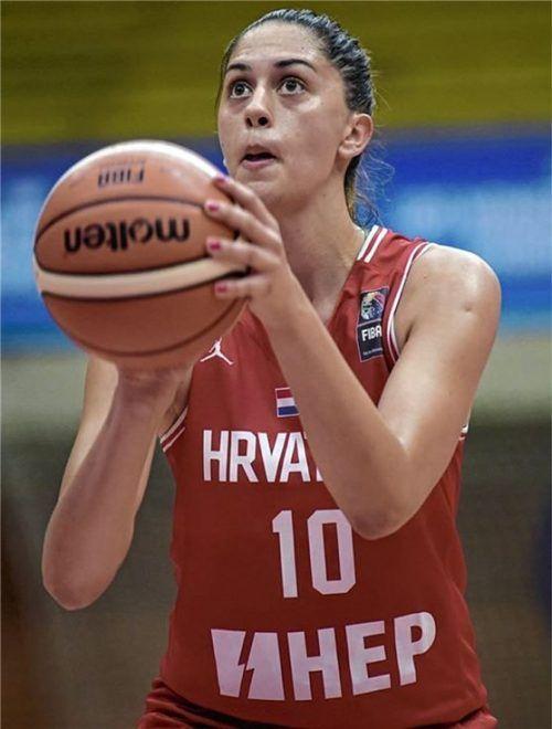 Die Kroatin Ana Vojtulek spielte zuletzt in der Schweiz und ist künftig für den TSV Wasserburg aktiv.Foto TSV Wasserburg