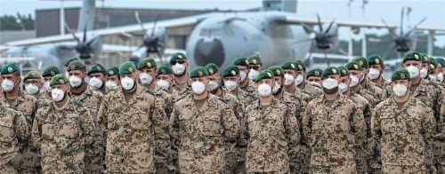 Die letzten Soldaten des deutschen Afghanistan-Einsatzes sind auf einem niedersächsischen Fliegerhorst angekommen. Der Einsatz ist nach fast 20 Jahren beendet worden.Foto dpa