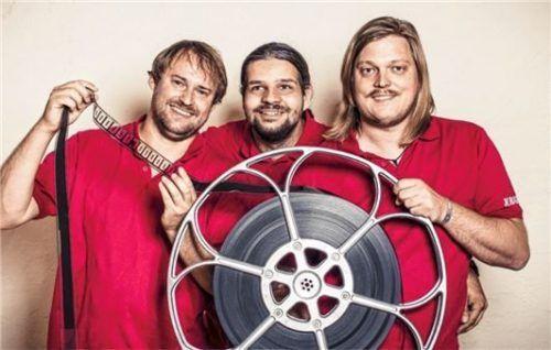 Ein eingespieltes Team: (von links) Christian Anner, Fabian Dandlberger und Bastian Schröger. Foto Kinokultur