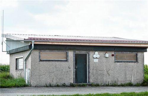 Eine Sanierung des alten Hochbehälters lohnt nicht, er wird an nahegelegener Stelle durch zwei neue ersetzt. Foto Günster
