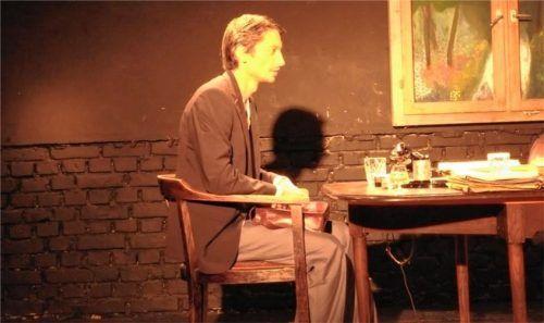 Fabian Behr in der Rolle des Ferdinand Vanek.Foto re