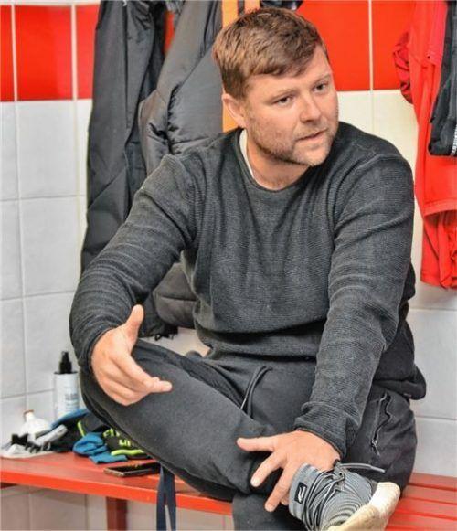 Florian Heller bestreitet am Sonntag sein erstes Pflichtspiel als Herrentrainer.Foto Hans-Jürgen Ziegler