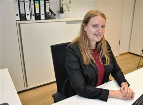 Jennifer Ziegelmann ist seit dem 1. Juli die neue Kämmerin der Gemeinde Feldkirchen-Westerham.Foto  Merk