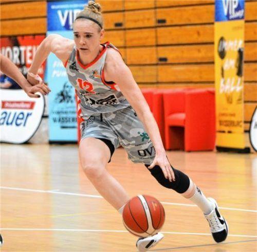 Laura Hebecker bleibt beim TSV Wasserburg.Foto Gabi Hörndl