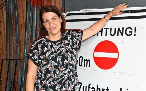 Leitet seit März den Rosenheimer Baubetriebshof: Sandra Ramming (43) aus Aschau. Foto Schlecker