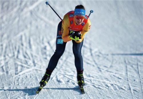 Nadine Herrmann will nach schwierigen Monaten noch einmal angreifen. Foto Sebastian Kahnert/DPA