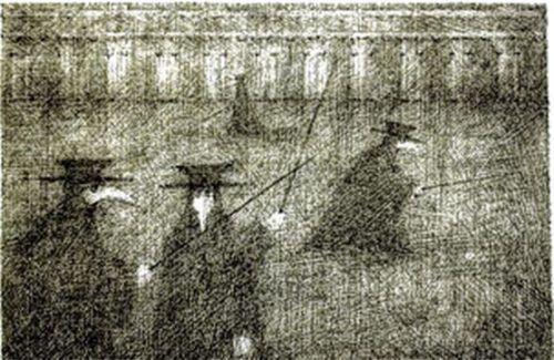 Venedig hatte es dem Zeichner Paul Flora besonders angetan. re
