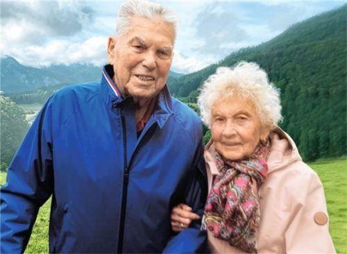 Viktor Schmid und seine Ehefrau Barbara (genannt Betty) verbrachten viele glückliche Ehejahre. Foto RE
