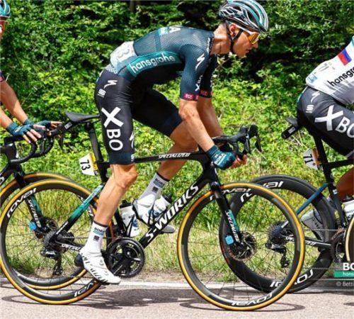 Wilco Kelderman hat sich in der Gesamtwertung auf den sechsten Platz verbessert. Foto Bettiniphoto/Bora hansgrohe