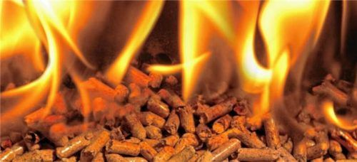 Wohlige Wärme aus Pellets ist umweltschonender, als hoher Heizölverbrauch. Foto dpa