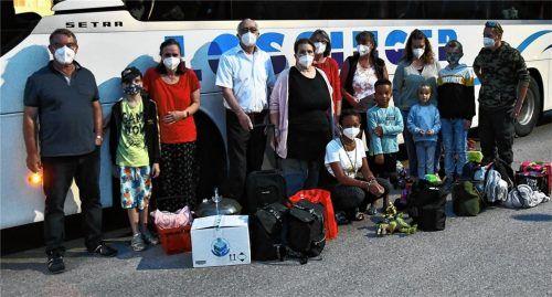 Ab in den Süden: Zahlreiche Teilnehmer, darunter Melanie Henneberger (Mitte), haben am gestrigen Sonntag die Reise ins italienische Caorle angetreten. Foto Schlecker
