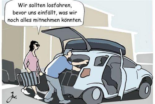 Beim Beladen sollten Autofahrer besser gut auf das Gewicht achten – sonst drohen unter Umständen Geld- und Punktstrafen. Foto Goslar Institut