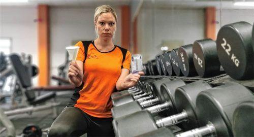 Bereit für den Selbsttest: Barbara Lang vom Fitnessstudio Mei Energy fürchtet, dass Kunden nicht bereit sind, für Tests vor dem Training zu bezahlen. Das fürchten auch Wirte oder Kinobetreiber. Foto  Enzinger