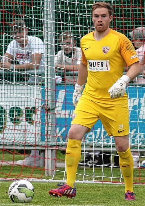 Buchbachs Keeper Daniel Maus blieb zum vierten Mal in dieser Saison ohne Gegentreffer. Foto Michael Buchholz
