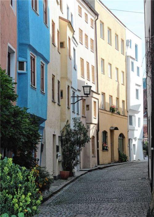 Dem Geheimnis der Häuserzeilen auf der Spur ist unter anderem Stadtarchivar Matthias Haupt.Foto re