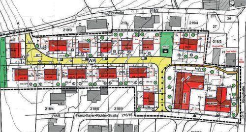 Das geplante Baugebiet Luberfeld soll bezahlbaren Wohnraum für Buchbacher Bürger bieten. Der Bebauungsplan stößt aber nicht bei allen Anwohnern auf Gegenliebe.  Gemeinde Buchbach