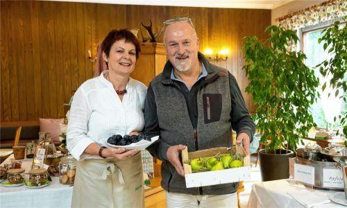 Die Bernauer Hoteliers sind gut gerüstet für die Gäste, wie hier Dehoga-Sprecher Willi Mehlhart mit seiner Frau Dorothea. Fotos Berger
