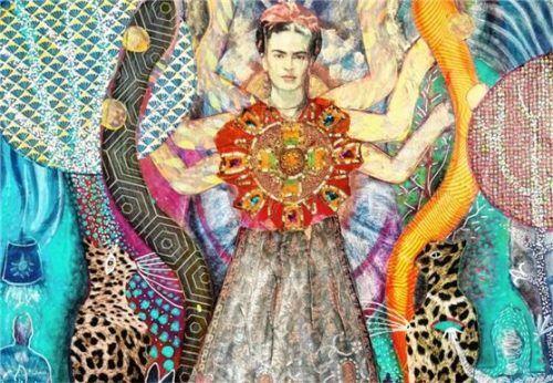 """Die """"Frida Göttin"""" von Eva Dahn Rubin. Foto RE"""