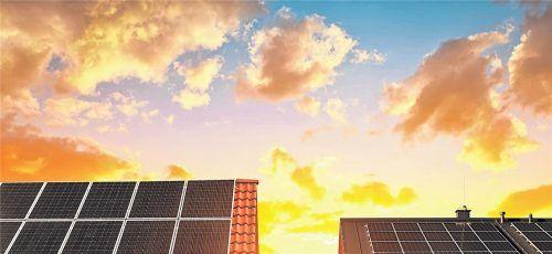 Die Nachfrage nach Solarstromanlagen wächst – laut Bundesverband für Solarwirtschaft allerdings nicht schnell genug.Foto Panthermedia/vencav