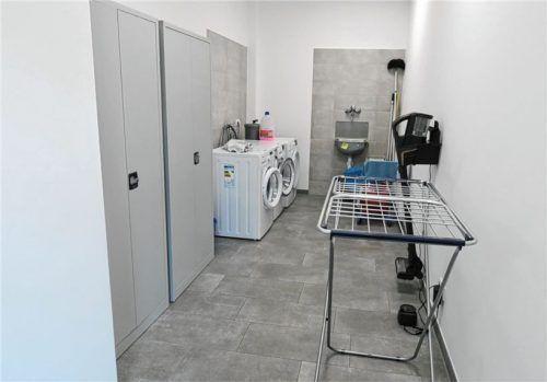 Ein Wasch- und Putzraum kam auch hinzu.