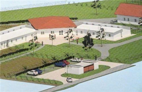 IMG_8011: Der Plan des neuen Tierheims im Inntal. (alle hra)
