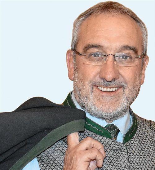 Nußdorfs Bürgermeister Sepp Oberauer ist vergangenen Sonntag im Alter von 62 Jahren gestorben. Foto RE