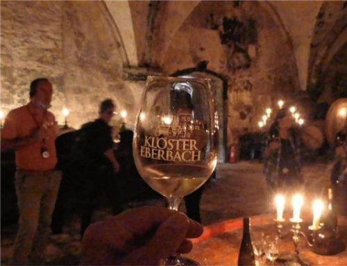 Romantische Weinprobe im Klosterkeller Eberbach.