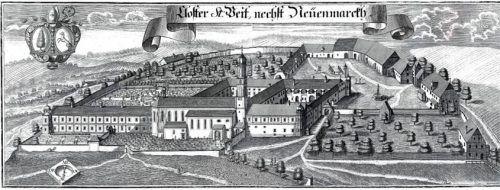 Schöner und größer als zuvor: Die Chronisten waren sich nach dem Wiederaufbau einig. Dieser Kupferstich aus dem Jahr 1715 stammt von Michael Wening. Foto Archiv/Jani