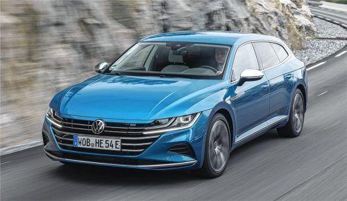 1,1 Liter Verbrauch sind möglich mit dem VW Arteon Shooting Brake e-Hybrid. Foto Autoren-Union Mobilität/Volkswagen