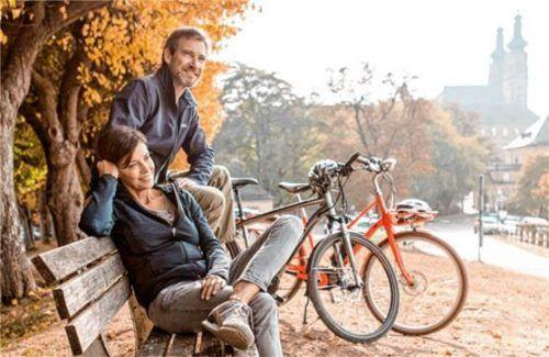 Bad Staffelstein ist wie geschaffen für reizvolle Ausflüge mit dem Fahrrad. Foto djd/Kur & Tourismus Service Bad Staffelstein