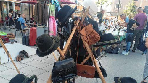Der Frauenmarkt wird vom Marienplatz (unsere Aufnahme entstand vor zwei Jahren) auf den Volksfestplatz verlegt.Foto re