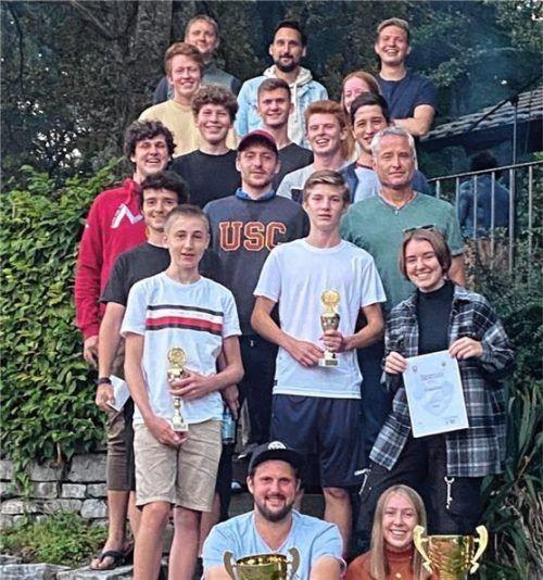 Die Gewinner der Vereinsmeisterschaft des ASV Rott, Abteilung Tennis.Fotos  ASV Rott