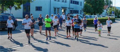 """Die Teilnehmer der Aktion """"Lauf10!"""" sind zwischen sechs und 79 Jahren alt.Foto  RE"""