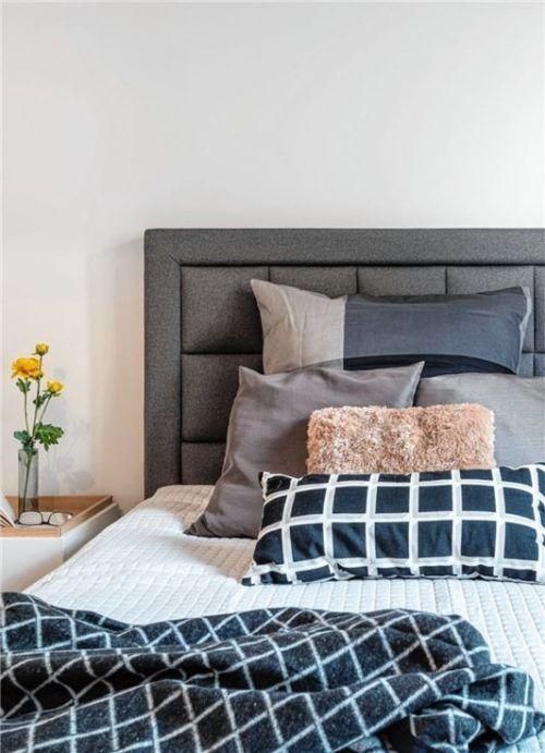 Ein aufgeräumtes Schlafzimmer hilft dabei, Ruhe zu finden. Foto djd/Vonovia/Schranner