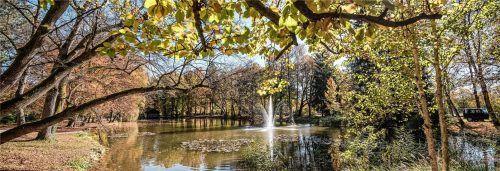 Erholung und Freizeitspaß: Im Kurpark Bad Aibling lassen sich schöne, unterhaltsame, entspannte und friedliche Stunden verbringen.