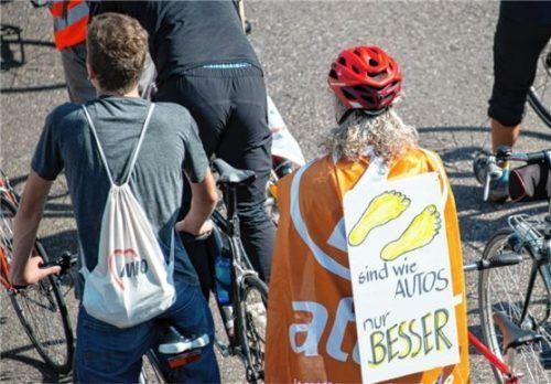 Für weniger Kfz-Verkehr: Am Samstag findet die IAA-Radlsternfahrt nach München statt. Foto dpa