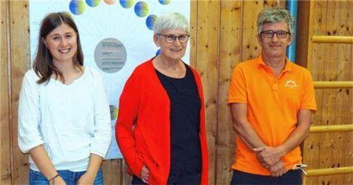 Im Einsatz für den Wasserburger Basketball: (von links) Kassierin Anna Hofmeister, Vorsitzende Paula Zaschka und ihr Stellvertreter Peter Maier. Foto Weithofer