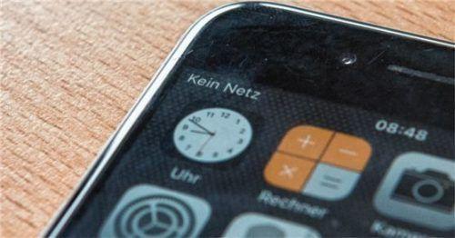 Massive Einschränkungen gab es gestern im Vodafon-Netz in Wasserburg und Mühldorf.Foto dpa