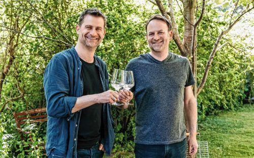 Michael (links) und sein Bruder Werner Altinger. Foto Michael Butolo