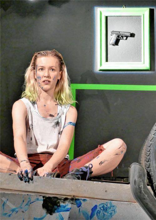 Miriam Brodschelm bringt als Isa die Poesie zum Aufblühen.Foto Janka